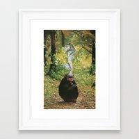 beast Framed Art Prints featuring Beast by Jesse Treece