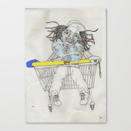 Lidl Wayne Canvas Print