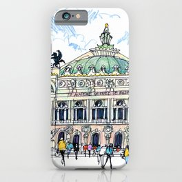 Palais Garnier, Paris iPhone Case