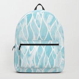 Sand Flow Pattern - Light Blue Backpack