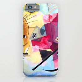 Wassily Kandinsky - Yellow Red Blue iPhone Case
