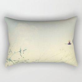 Cardinale Flight Rectangular Pillow