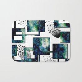 Galaxy Geometric Pattern 34 Bath Mat