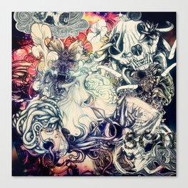 Second Mix Canvas Print