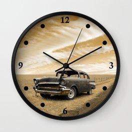 Quiet Stretch Wall Clock