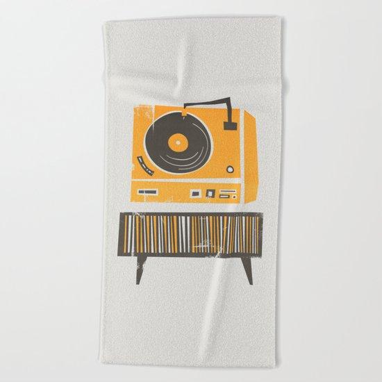Vinyl Deck Beach Towel