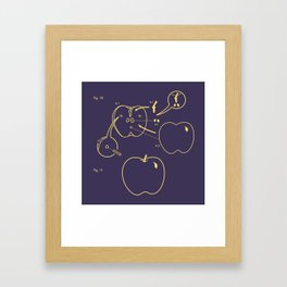 creve coeur 3 Framed Art Print