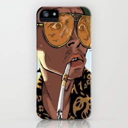 DEPP: Fear and Loathing in Bat Country iPhone Case