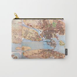 Stockholm Map 1885 Carry-All Pouch