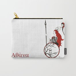 The Lady Athena, Goddess of Wisdom and War Carry-All Pouch