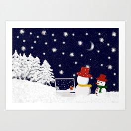 Christmastime 1 Art Print