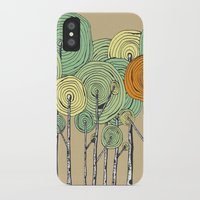 fall iPhone & iPod Cases featuring Fall by Chris Gregori