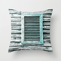 Single Window Throw Pillow