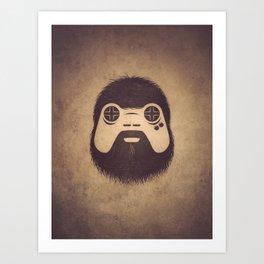 The Gamer Art Print