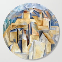 Pablo Picasso Houses on a Hill Cutting Board