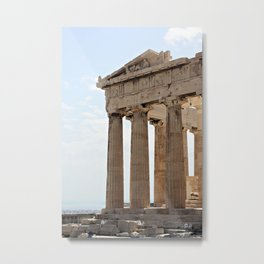Parthenon. Metal Print