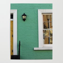 Green House in Chelsea Poster