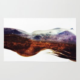 Mountains within us Rug
