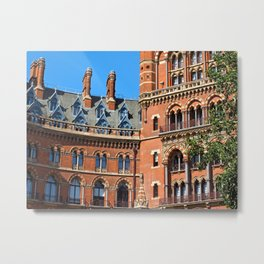 Facade of the St.Pancas Hotel Metal Print