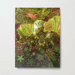 Mushroom Realms Metal Print