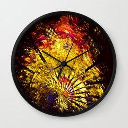 Oriental Ambience Wall Clock