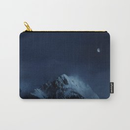 Moonlight on Aoraki / Mount Cook. Carry-All Pouch