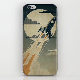 Night Launch iPhone Skin