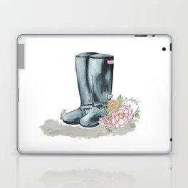 Spring Rain Boots Laptop & iPad Skin