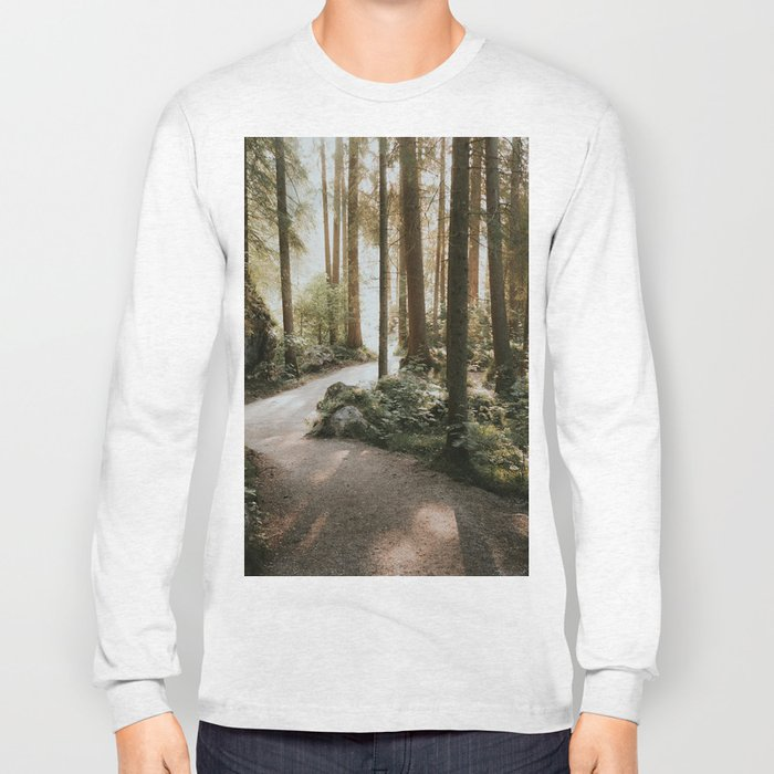 Lost in the Forest - Landscape Photography Long Sleeve T-shirt