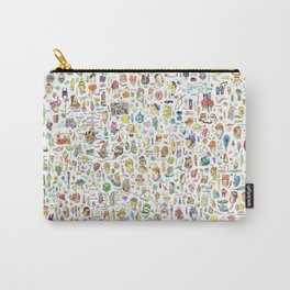 Maximal drawing Carry-All Pouch