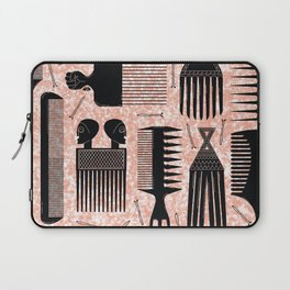 Comb Through red Laptop Sleeve