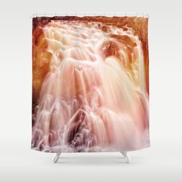 Demon Falls Shower Curtain