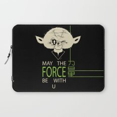 Starwars Yoda - May The Force Be With U Laptop Sleeve