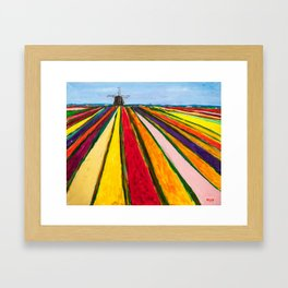 The Colors of Amsterdam Framed Art Print