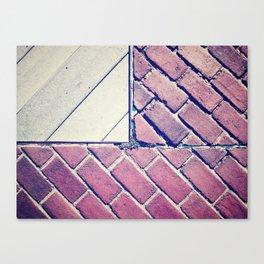 Brick Flag Canvas Print