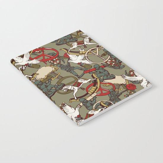 Warpaint & Peace Notebook
