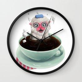 Calming Brew Wall Clock