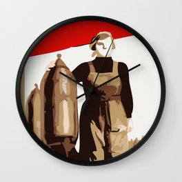 POWER TO THE MASSES  Wall Clock