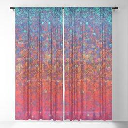 Glitter Dust Background G172 Sheer Curtain