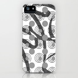 Love Laces grey iPhone Case