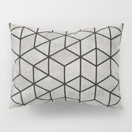 Random Concrete Cubes Pillow Sham