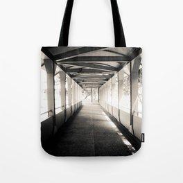 Bridging Lines Tote Bag