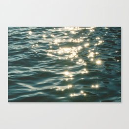 Ocean Sparkle Canvas Print