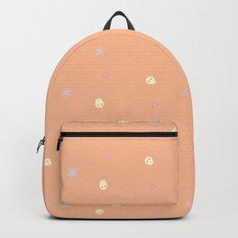 Hearts, stars, and skulls! Backpack