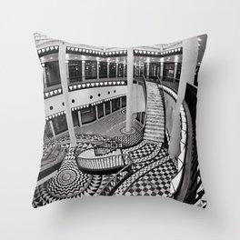 Quartier 206 in Berlin Throw Pillow