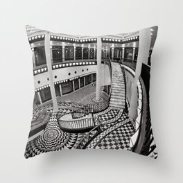Quartier 206 in Berlin Throw Pillow