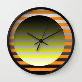Spin Around In Circles Wall Clock