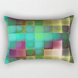 COLOURFUL HILLS III Rectangular Pillow