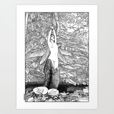asc 546 - Le sacrifice cyclique (The recurring sacrifice) Art Print