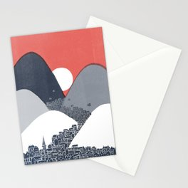 Midnight Sun Stationery Cards